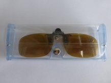 A&M  Clip On Sonnenbrille Yellow